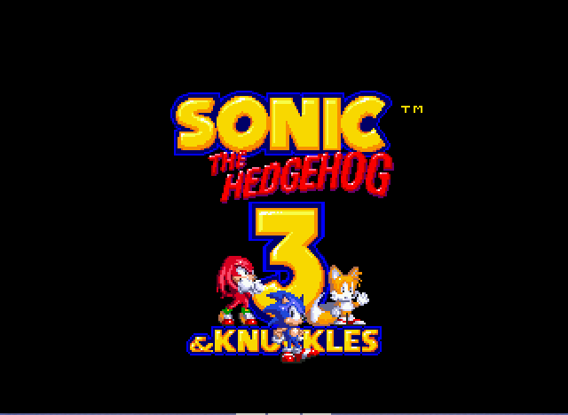 Sonic and Knuckles & Sonic 3 - Ending  - finished! - User Screenshot